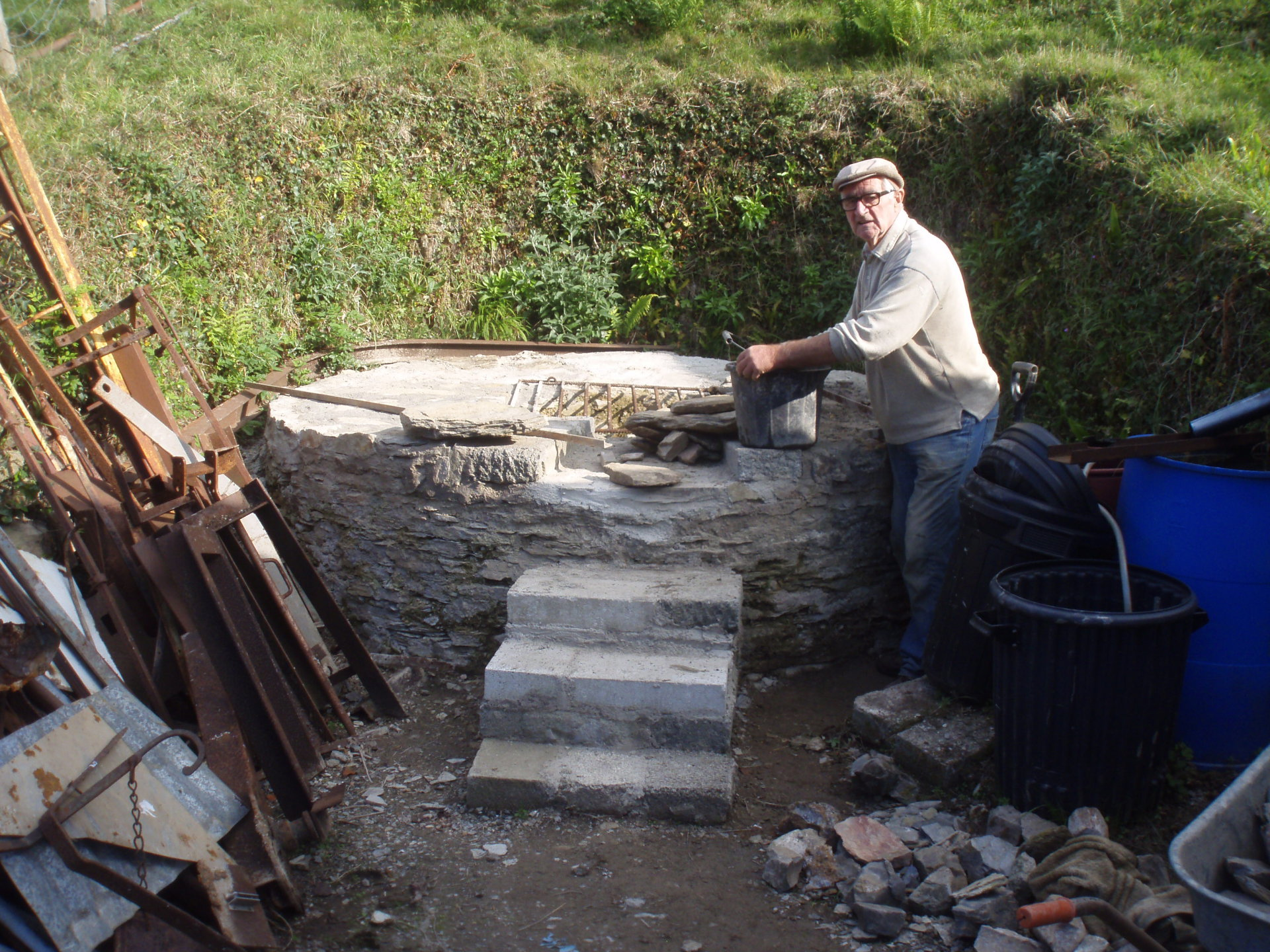 Volunteer Above ground - Combe Martin Silver Mine & Research Society